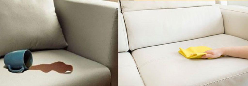 Как удалить пятно от колы с дивана фото