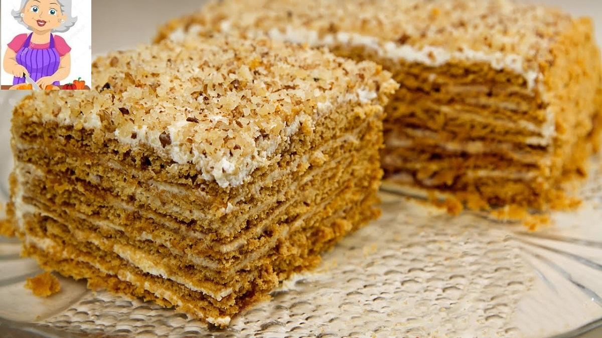 Tort cu miere şi smântână – Reţetă
