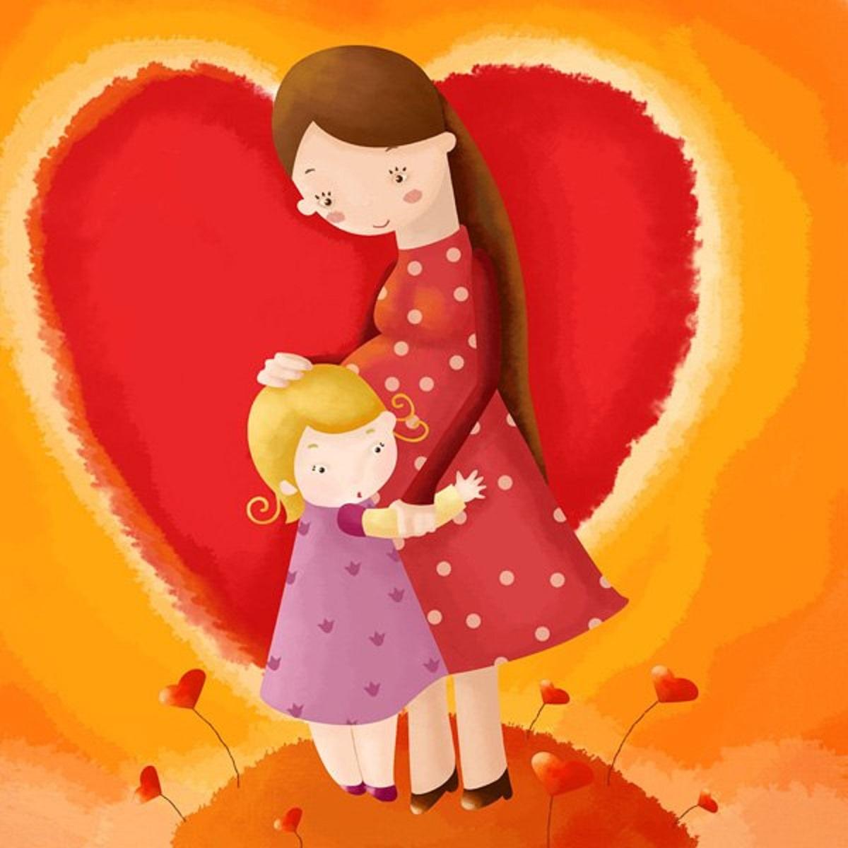 Красивые картинки маме о любви